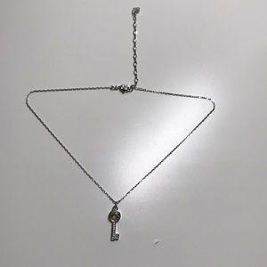 Swarovski silver necklace